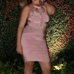 Soft pink dress, gently worn.